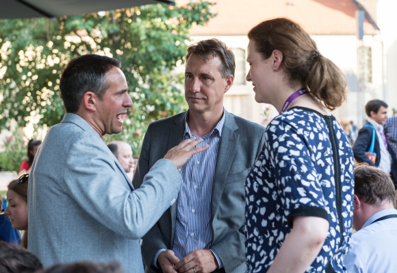 Jonathan Riesel (Executive Director, Digital Distribution, SPT), John Rossiter (General Manager SPTN CE), Laura St Clair (Executive Director, Formats, SPT)